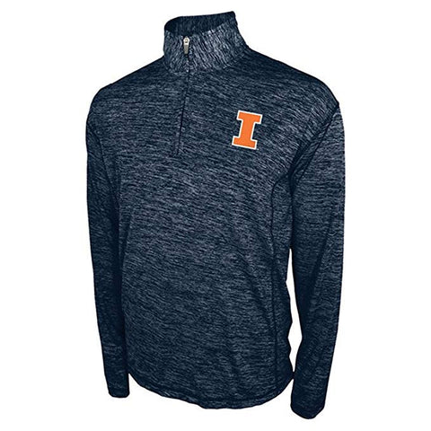 Illinois Fighting Illini Adidas Ultimate Tee Quarter Zip Pullover