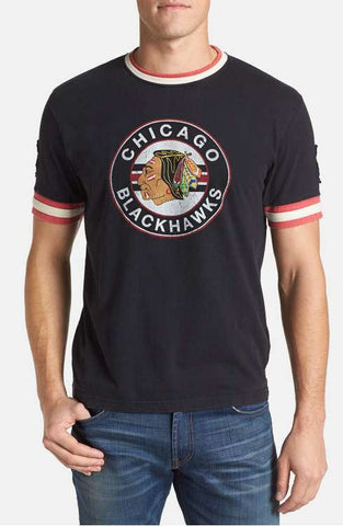Mens Chicago Blackhawks Remote Control T-Shirt Black