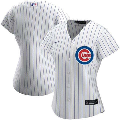 Women's Chicago Cubs Nike White Home Replica Team Jersey