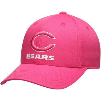 NFL Team Apparel Infant Chicago Bears Pink Structured Hat
