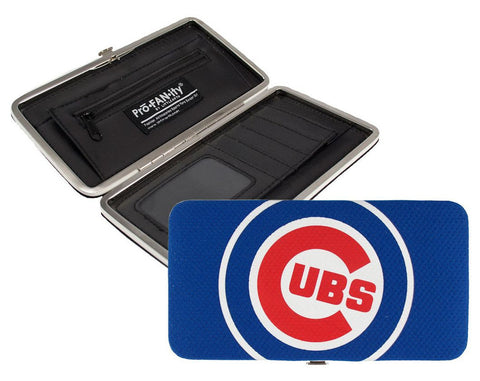 Chicago Cubs Shell Mesh Womens Wallet-Pro