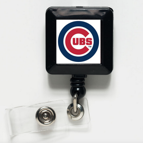 Chicago Cubs Retractable Badge Holder
