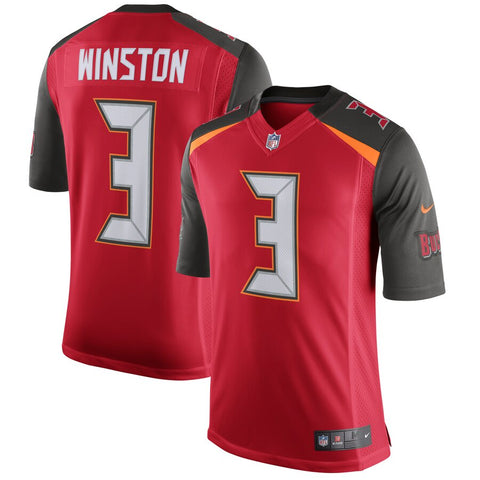 Men's Tampa Bay Buccaneers Jameis Winston Nike Red Limited Player Jersey