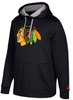 Men's Adidas Chicago Blackhawks Black Performance Pullover Hoodie
