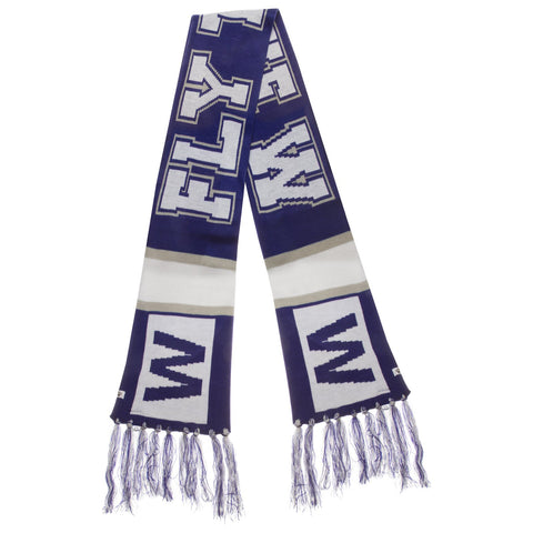 Chicago Cubs Royal, White, and Grey W Flag Breakaway Scarf