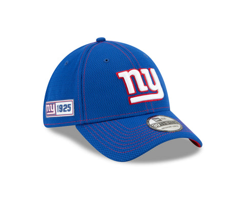 New York Giants 2019 Established Collection Sideline Road 39THIRTY Flex Hat