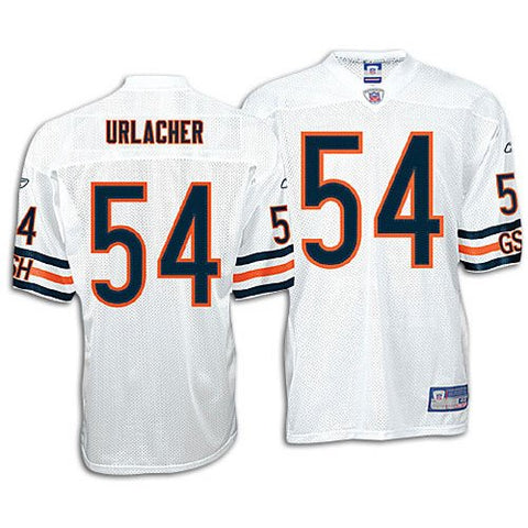 Brian Urlacher Chicago Bears Authentic White NFL Jersey