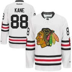 Mens Chicago Blackhawks Patrick Kane 2015 Winter Classic Premier Jersey by Reebok