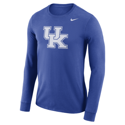 Kentucky Wildcats Nike Logo Long Sleeve Performance T-Shirt