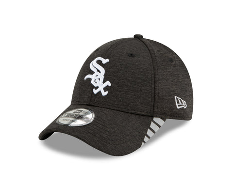 Chicago White Sox Black Visor Trim 9Forty Adjustable Cap By New Era