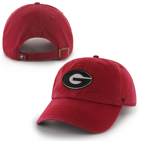 Georgia Bulldogs Red '47 Brand Clean Up Adjustable Hat