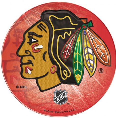 NHL Chicago Blackhawks Domed Decal By Wincraft