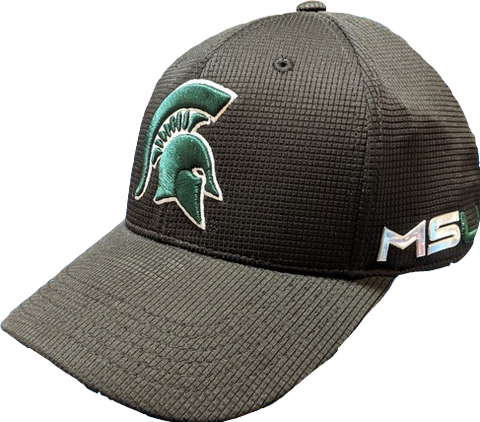 Mens Michigan State Spartans Iron Side One Fit Flex Fit Hat By Top Of The World