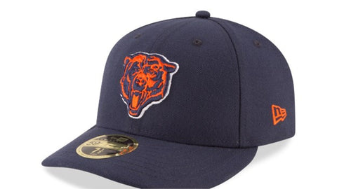 Chicago Bears NFL On Field Low Profile Nightshift New Era 59FIFTY Fitted Hat