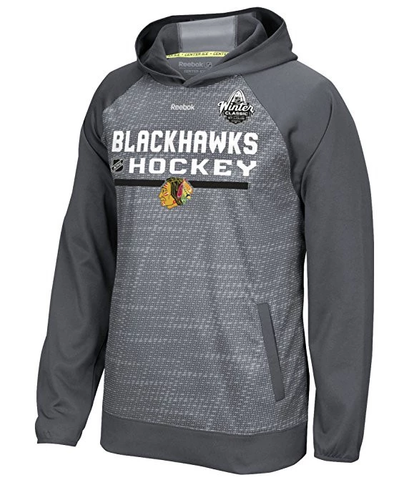 Chicago Blackhawks 2017 Winter Classic TNT Pullover Hoodie By Reebok