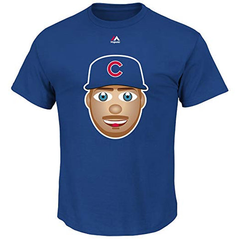 Majestic Kris Bryant Chicago Cubs MLB Youth Emoji Name & Number T-Shirt
