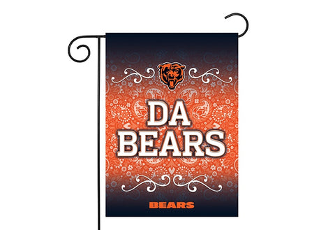 "Chicago Bears ""Da Bears"" 2-Sided Garden Flag"