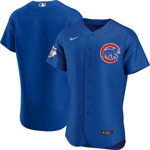 Chicago Cubs Royal Blue Authentic Alternate Jersey by Nike