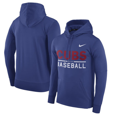 Men's Nike Royal Chicago Cubs Pullover Hoodie