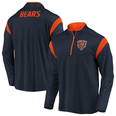 Men's Chicago Bears Mission Primary Long Sleeve Fanatics Performance Windshirt