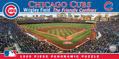 Masterpieces MLB Chicago Cubs Stadium Panoramic 1000-PIECE Jigsaw Puzzle - Pro Jersey Sports - 1