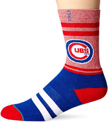 Chicago Cubs Adult Diamond Socks
