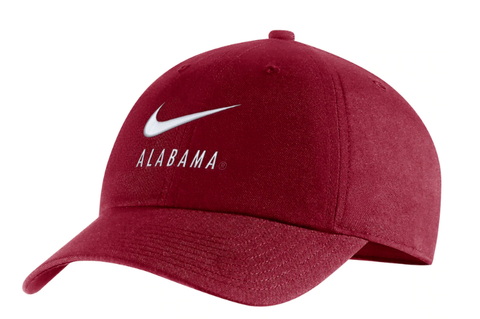 Alabama Crimson Tide Nike Big Swoosh Team Heritage 86 Adjustable Hat