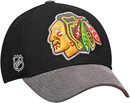 Chicago Blackhawks 2014 Playoffs Flex Fit Hat No Side Patch