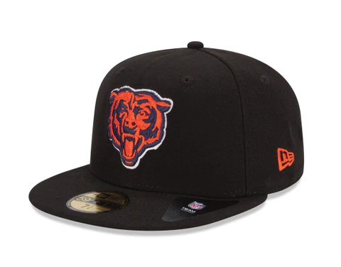 Chicago Bears League Black Basic 59Fifty Fitted Cap By New Era