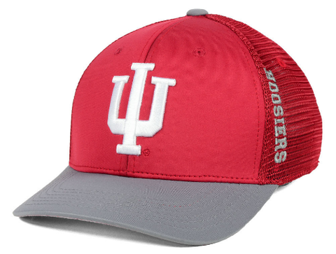 Mens Indiana Hoosiers Chatter One Fit Flex Fit Hat By Top Of The World