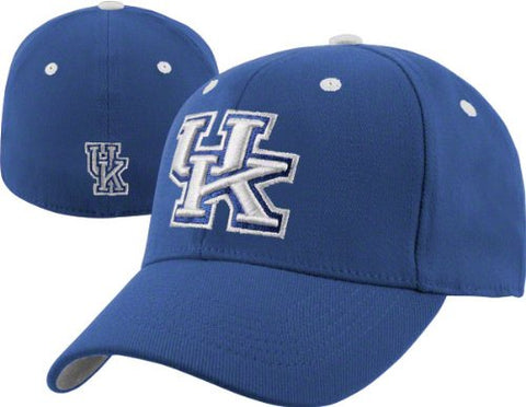 Kentucky Wildcats Team Color Top of the World Flex Fit Hat