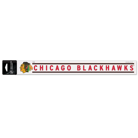"Chicago Blackhawks Perfect Cut Decals 2"" x 17"" - Pro Jersey Sports"