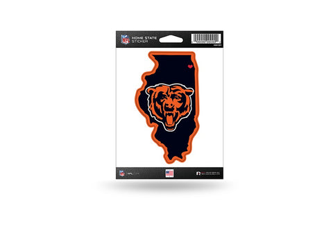 Chicago Bears Home State Decal By Rico