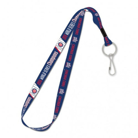 CHICAGO CUBS 2016 WORLD SERIES CHAMPIONS CHICAGO CUBS LANYARD 1""