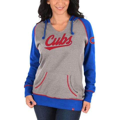 Women's Chicago Cubs Majestic Absolute Confidence Hoodie