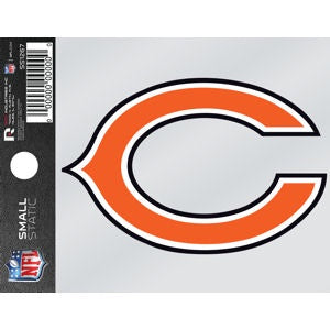 "Chicago Bears ""C"" Logo Small Static Window Cling"