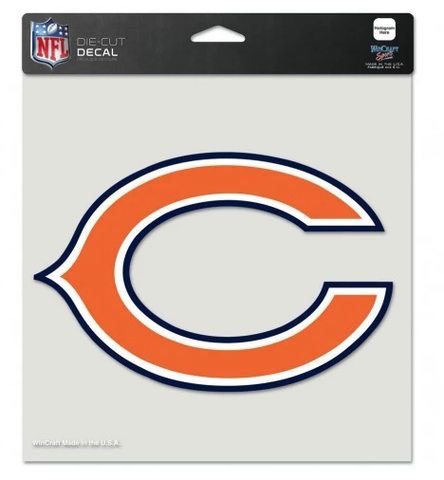 Chicago Bears 8X8 Perfect Cut Decal by Wincraft