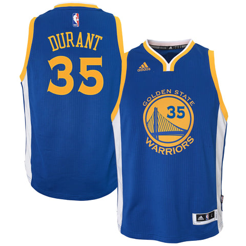 Youth Kevin Durant Golden State Warriors Replica Road Swingman Jersey