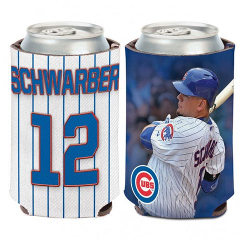 Kyle Schwarber Chicago Cubs  2 Sided 12 oz. Can Cooler By Wincraft
