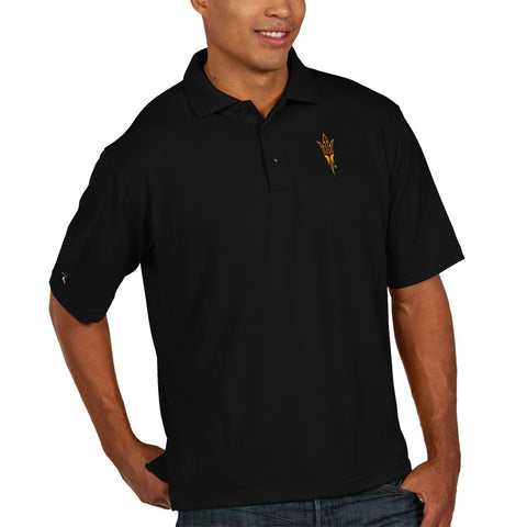 Arizona State Sun Devils Antigua Xtra Lite Polo – Black