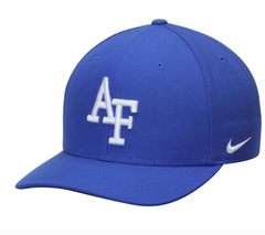 Air Force Falcons Nike Wool Classic Performance Adjustable Hat - Royal