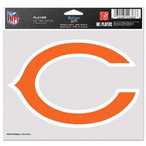 Chicago Bears 5X6 Multi Use Decal By Wincraft
