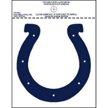 Rico NFL Indianapolis Colts Small Static Decal