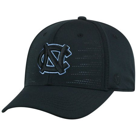 Mens North Carolina Tar Heels Dazed One Fit Flex Fit Hat By Top Of The World