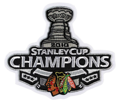 Chicago Blackhawks 2010 Stanley Cup Champions Patch