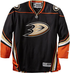 Anaheim Ducks NHL Reebok Premier Replica Team Alternate Black Game Hockey Jersey