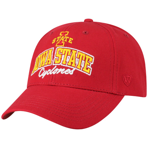 Mens Iowa State Cyclones Advisor Adjustable Hat By Top Of The World