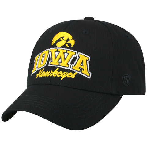 Mens Iowa Hawkeyes Advisor Adjustable Hat By Top Of The World