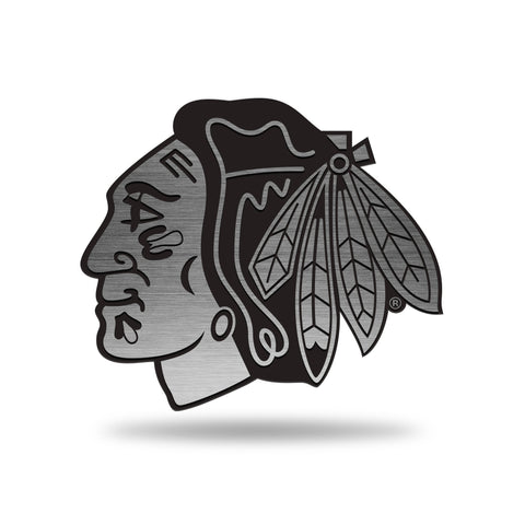 Chicago Blackhawks Car Metal Emblem
