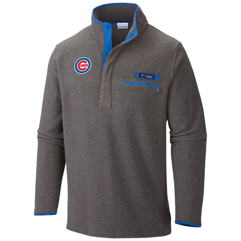 CHICAGO CUBS HARBORSIDE PULLOVER FLEECE JACKET BY COLUMBIA